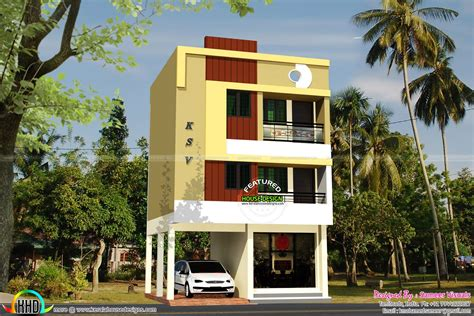 2 floor houses april 2016 kerala home design and floor plans