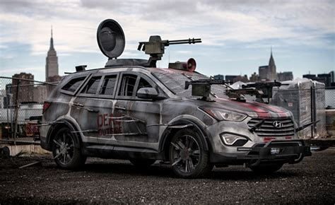 survival car santa fe zombie survival machine a bloody mess 187 autoguide