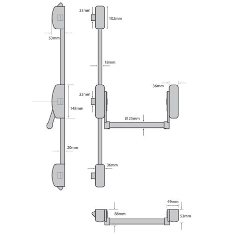 push bar door lock mechanism carl f groupco