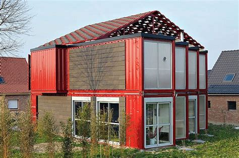 2 story floor plans for container house a two story house made of eight shipping containers with a modern interior design