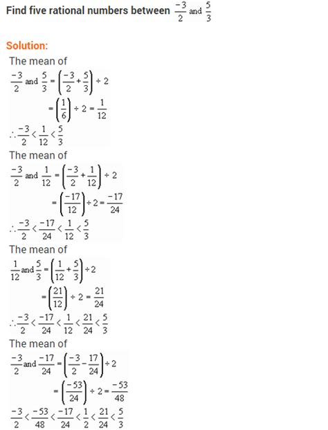 Ncert Solutions For Class 8 Maths Rational Numbers Ex12