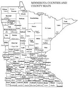 Minnesota Counties Map