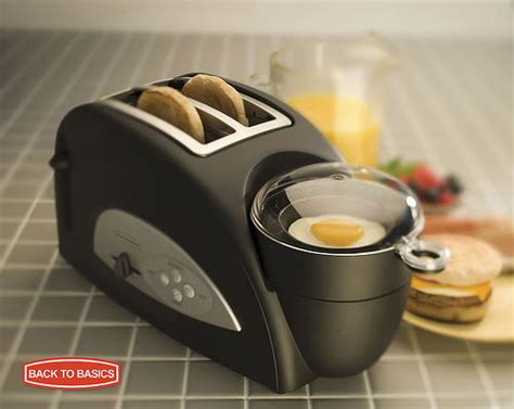 Back To Basics Egg And Muffin Toaster - egg muffin toaster breakfast sandwich in minutes