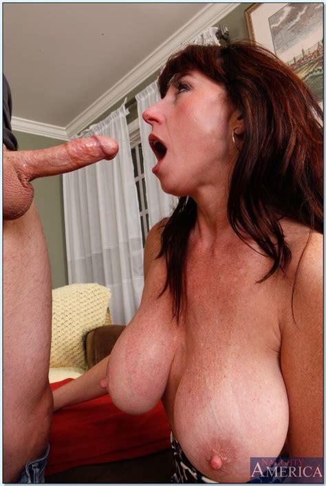 slutty mom with huge juggs karen kougar fucking after a deepthroat bj