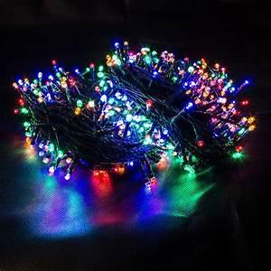 Led Lichterkette Draußen : 600er led lichterkette multicolor farblichterkette weihnachten ~ Orissabook.com Haus und Dekorationen