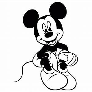 Mickey Mouse Black And White | Clipart Panda - Free ...