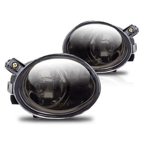 01 05 bmw e46 smoke housing oem style fog lights