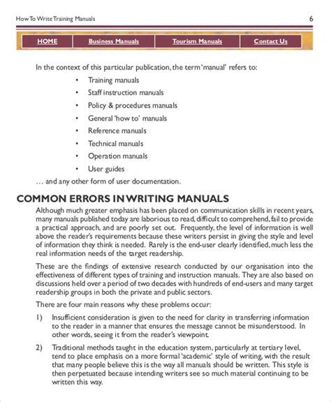 operation manual templates laustereocom