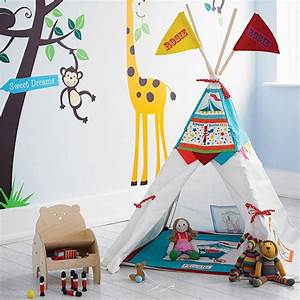 Tipi Little Nice Things : personalised circus teepee den wigwam by wild things funky little dresses ~ Preciouscoupons.com Idées de Décoration