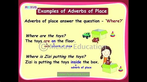 adverbs  place youtube