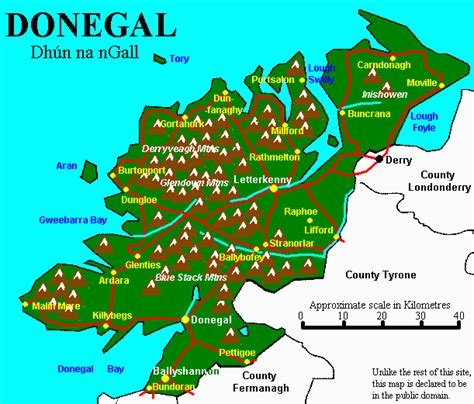 highlands  donegal adventouruscom