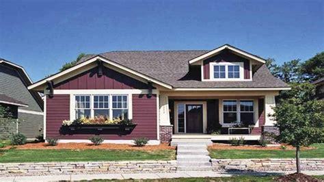 single craftsman house plans single bungalow house plans single craftsman
