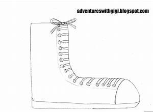 adventures with gigi pete the cat With pete the cat shoe template