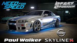 Nissan Skyline Fast And Furious : need for speed 2015 2 fast 2 furious brian 39 s nissan skyline r34 gt r gameplay paul walker ~ Medecine-chirurgie-esthetiques.com Avis de Voitures