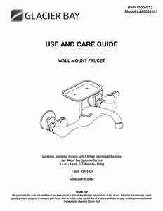 Glacier Bay Kitchen Faucet Parts Diagram