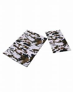 Parure De Lit 1 Personne Ado : parure de lit 1 personne coton camouflage militaire enfant ado ~ Teatrodelosmanantiales.com Idées de Décoration