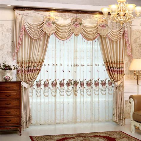 Bedroom Valances Sale by Set Luxury Curtains For Living Room With Valance