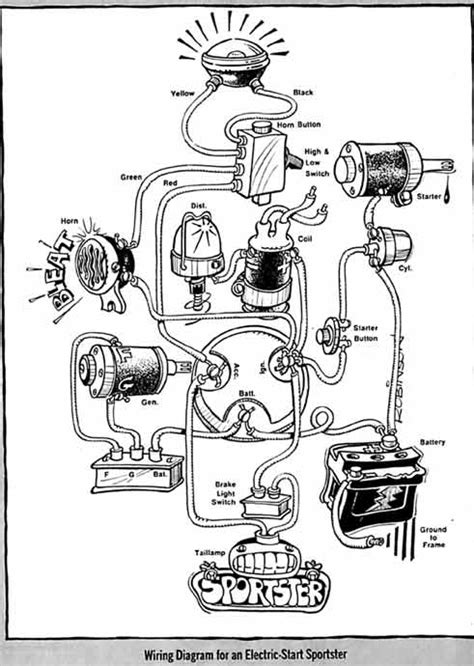 basic wiring diagram garage life buell motorcycles