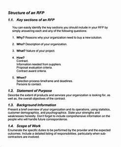15 sample free request for proposal templates sample With request for bids template