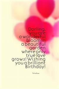 45 Cute and Romantic Birthday Wishes with Images - The ...