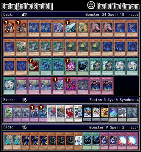 lightsworn deck list 2015 ocg 2015 01 with shaddoll road of the king