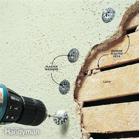Bathroom Floor Cleaning Products by How To Repair Plaster The Family Handyman