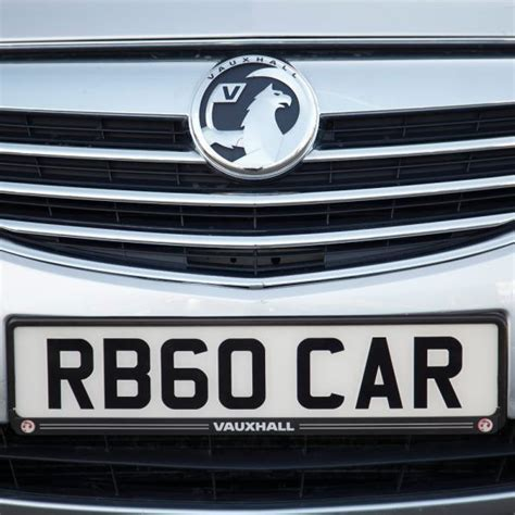 Richbrook Vauxhall Logo Number Plate Surround 440064