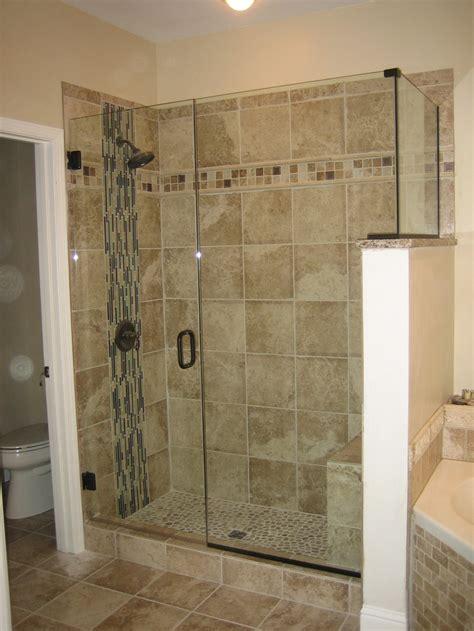 frameless shower  tile     tastes