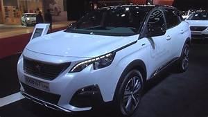Peugeot 3008 1 2 Puretech 130 S S Gt Line : peugeot 3008 gt line 1 2 puretech 130 s s bvm6 2017 exterior and interior in 3d youtube ~ Gottalentnigeria.com Avis de Voitures