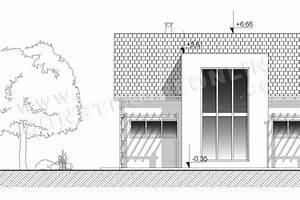plan de maison moderne galibier With plan facade maison moderne