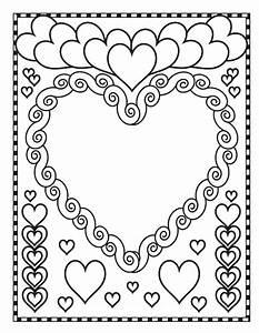 Dessin Saint Valentin : saint valentin coloriage de la saint valentin ~ Melissatoandfro.com Idées de Décoration