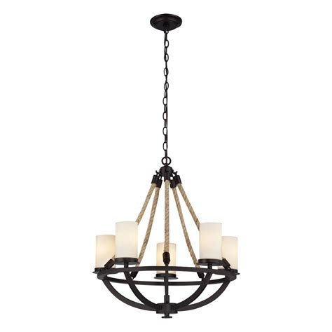 candle light l shades titan lighting natural 5 light aged bronze chandelier