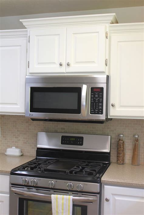 kitchen cabinet crown molding to kitchen remodel big results on a not so big budget