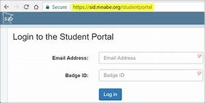 Student Portal login directions - handout – MN ABE Data ...