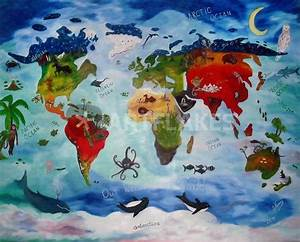 """""Our Wonderful World"""" Painting art prints and posters by ..."
