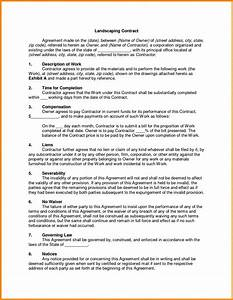 maintenance contract sample portablegasgrillwebercom With gardening contract template