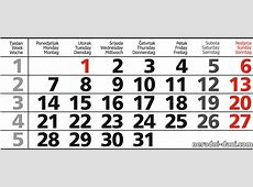 2019 Kalendar 2019 2018 Calendar Printable with holidays