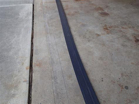 Garage Threshold by Installing A Garage Threshold
