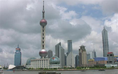Wallpapers China Shanghai Tv Tower Wallpapers