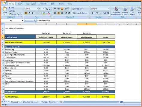 rent collection spreadsheet excel spreadsheets group