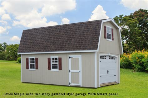 Two Story Single Wide Garages   Lancaster & York PA