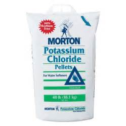lowes faucets kitchen shop morton 40 lb salt potassium chloride at lowes