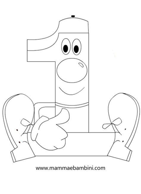 disegni numeri da colorare per bambini numeri da stare e colorare 1 mamma e bambini