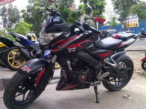 Modifikasi Pulsar 200ns by Kumpulan Foto Modifikasi Motor Kawasaki Bajaj Pulsar 200ns