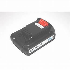 Batterie Black Et Decker 18v : batterie 18v 1 5ah 27wh pour outils black decker ~ Dailycaller-alerts.com Idées de Décoration