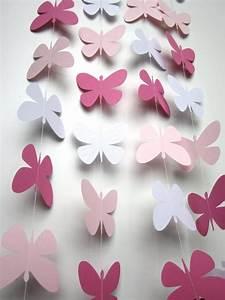 Wedding Garland  10 Foot Paper Butterfly Garland  Photo