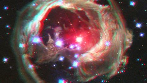 The Universe In 3d (anaglyph) Youtube