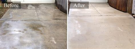 concrete cleaner concrete pressure cleaning in san antonio