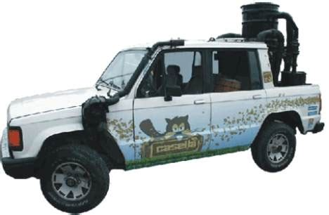 save fuel costs   wood powered pickup truck treehugger