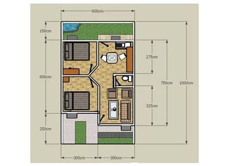 desain denah rumah minimalis type   bagus